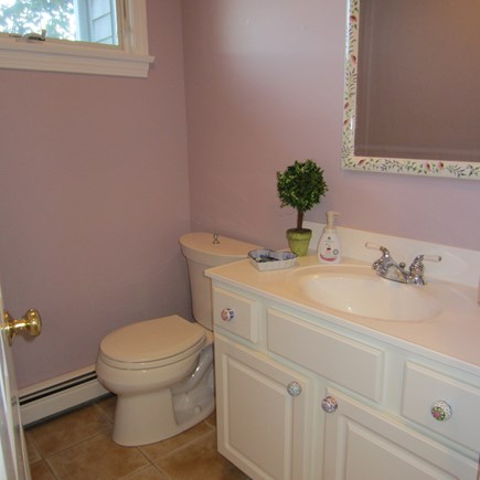 Brewster Cape Cod vacation rental - Half Bath off the Kitchen