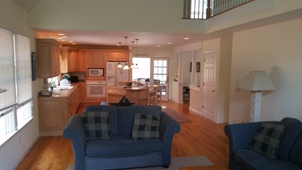 North Eastham Cape Cod vacation rental - Kitchen viewed from living room