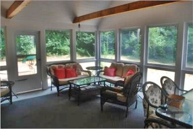 North Eastham Cape Cod vacation rental - 16 x 20 Screened in Porch