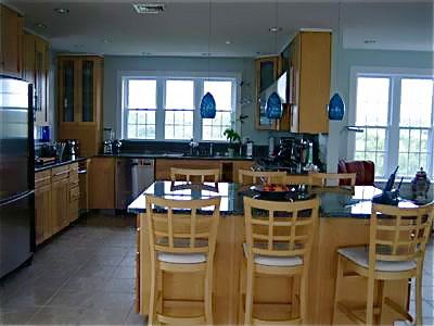 Sandwich/Sagamore Beach Sagamore Beach vacation rental - Kitchen with granite breakfast bar