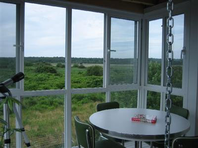 Sandwich/Sagamore Beach Sagamore Beach vacation rental - Upstairs three season room with swing