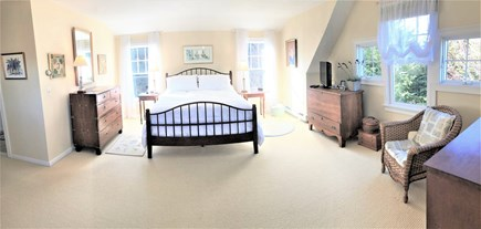 East Orleans Cape Cod vacation rental - Panoramic shot of only 1/2 of the extra large master