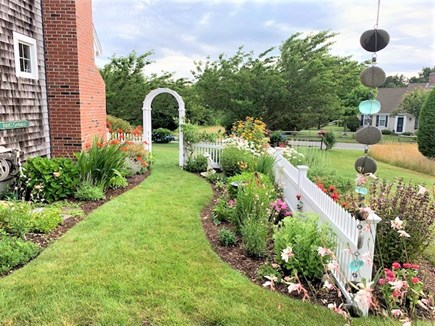 East Orleans Cape Cod vacation rental - Beautiful gardens on the side of the house