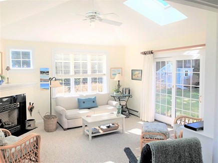 East Orleans Cape Cod vacation rental - Bright and comfortable sunroom off the kitchen/dining area
