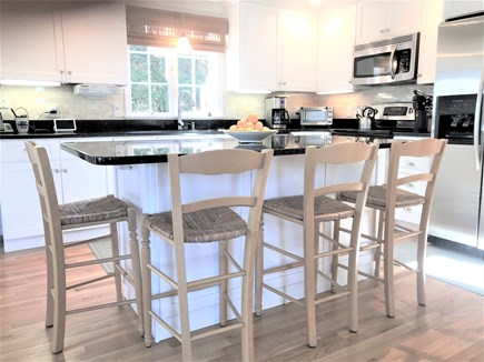 East Orleans Cape Cod vacation rental - Breakfast bar for gathering in the kitchen