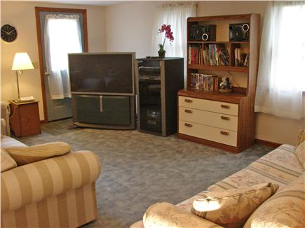 West Yarmouth Cape Cod vacation rental - Large family room with 52'' TV and plenty of space to relax