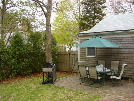 West Yarmouth Cape Cod vacation rental - End the day with a cookout on the patio