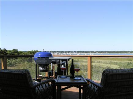 Wellfleet Cape Cod vacation rental - View from Upper Deck