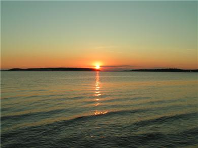 Wellfleet Cape Cod vacation rental - Sunset from Burton Baker Beach