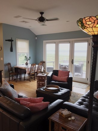 Wellfleet Cape Cod vacation rental - Upstairs Living Area