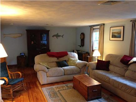 Harwich Cape Cod vacation rental - View of living room from kitchen
