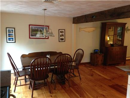 Harwich Cape Cod vacation rental - Dining area for those great summer dinners!