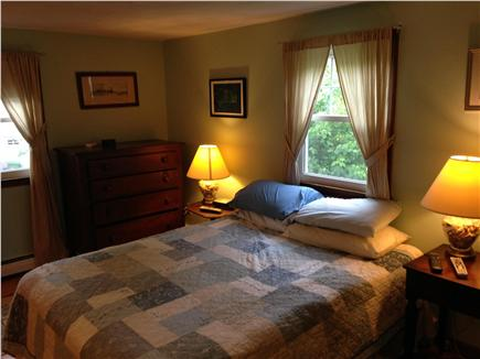 Harwich Cape Cod vacation rental - Master bedroom with attached half bath