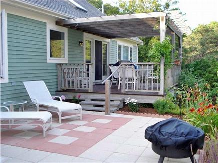 Brewster Cape Cod vacation rental - Back deck and patio
