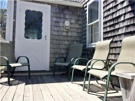 New Seabury New Seabury vacation rental - Deck off 3 season porch