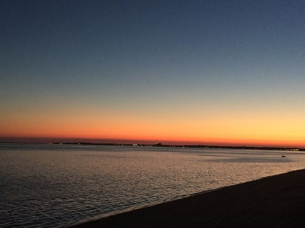Truro Cape Cod vacation rental - Sunset from Cottage