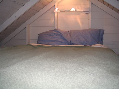 Truro Cape Cod vacation rental - Loft bedroom with full size bed