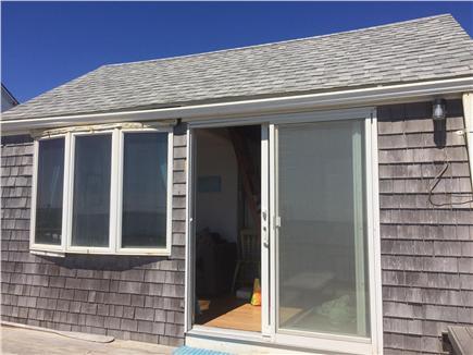 Truro Cape Cod vacation rental - Slider to deck