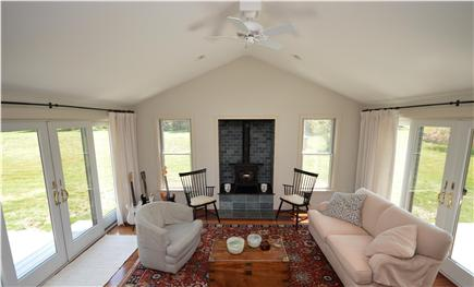 East Orleans Cape Cod vacation rental - Open Living room next to Kitchen