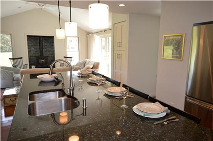 East Orleans Cape Cod vacation rental - New Chef`s Kitchen with breakfast bar/ island