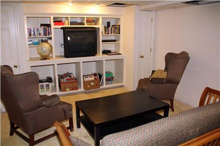 East Orleans Cape Cod vacation rental - Lower Level Entertainment area