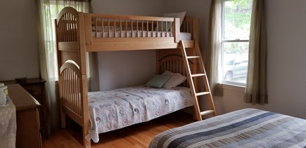 Eastham Cape Cod vacation rental - 1st Floor Bedroom #2 - full + twin bunkbeds