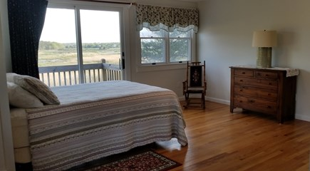 Eastham Cape Cod vacation rental - 2nd Floor Bedroom #1 - Master Bedroom with Private Deck - queen