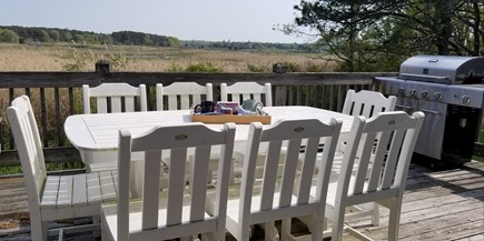 Eastham Cape Cod vacation rental - Outdoor Dining on Deck