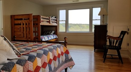 Eastham Cape Cod vacation rental - 2nd Floor Bedroom #2 - full + twin bunkbeds