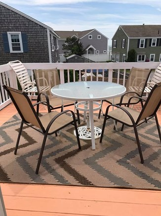 Bass River / South Yarmouth Cape Cod vacation rental - Back deck with ocean views and patio