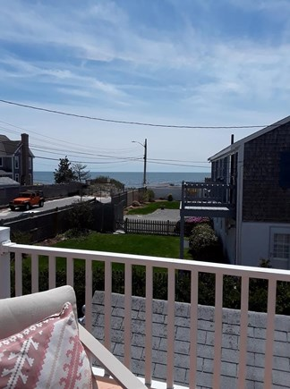Bass River / South Yarmouth Cape Cod vacation rental - View of Nantucket Sound from Deck