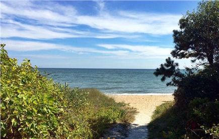 New Seabury, Popponesset, Mash New Seabury vacation rental - 2 Min walk via cart path or stairs to pristine, private beach
