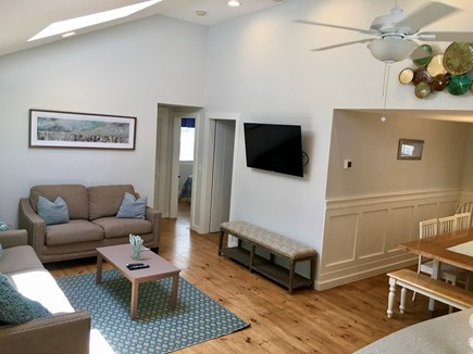 New Seabury, Popponesset, Mash Cape Cod vacation rental - Family Room with New Floors, Smart HDTV and New Furniture