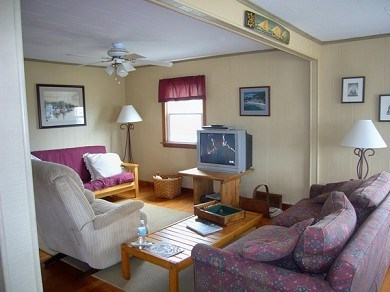 North Falmouth Cape Cod vacation rental - Living Room