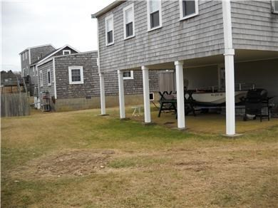 North Falmouth Cape Cod vacation rental - Back of cottage