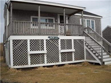 North Falmouth Cape Cod vacation rental - Front of cottage