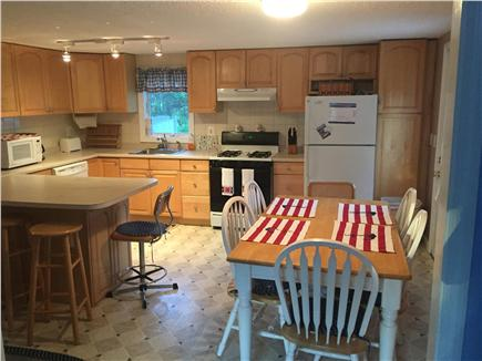 Harwich Cape Cod vacation rental - Kitchen area with porch to side