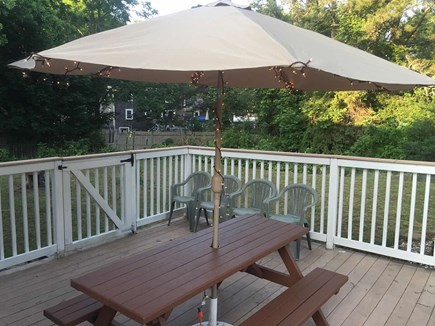 Harwich Cape Cod vacation rental - Beautiful backyard to enjoy while vacationing