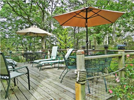 Chatham Cape Cod vacation rental - 2 tables seat 8, ample chairs to relax and enjoy the quiet