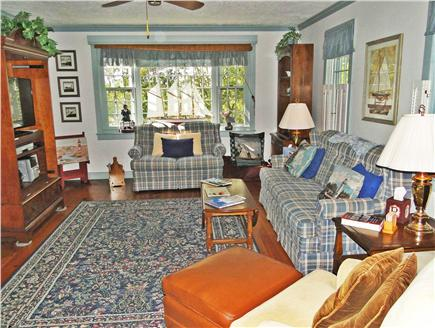 Chatham Cape Cod vacation rental - Living room with plenty of comfortable seating and flat screen TV