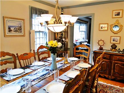 Chatham Cape Cod vacation rental - Dining room – we have a highchair if needed