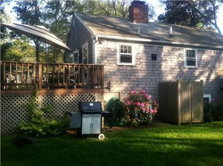 Harwich Cape Cod vacation rental - Backyard/ outdoor shower