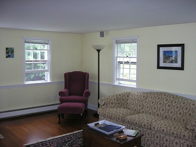 Harwich Cape Cod vacation rental - Living Room with wi-fi