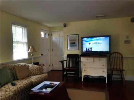 Harwich Cape Cod vacation rental - Living Room- with flat screen tv, wi-fi, apple tv, central ac