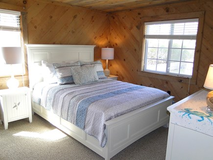 Falmouth New Silver Beach Cape Cod vacation rental - Upstairs queen size master bedroom
