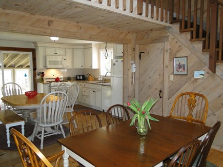 Falmouth New Silver Beach Cape Cod vacation rental - Dining room, adjacent to Kitchen