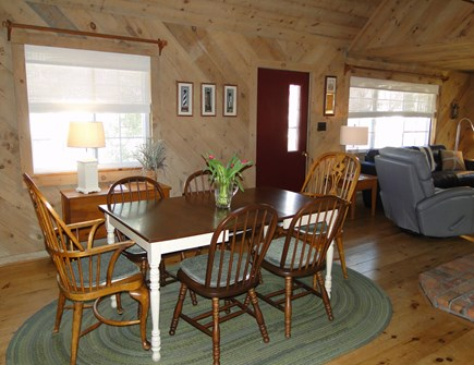 Falmouth New Silver Beach Cape Cod vacation rental - Dining room - view from kitchen