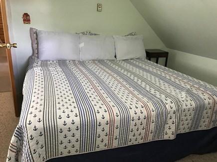Wellfleet Cape Cod vacation rental - Second Floor Bedroom w/king and one double in same room