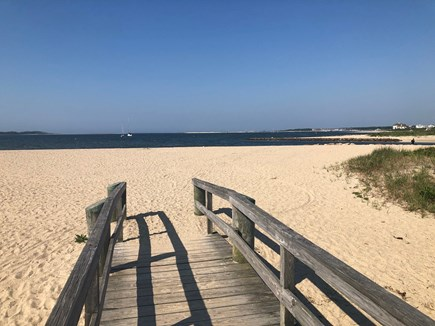 West Yarmouth Cape Cod vacation rental - Bridge to Colonial Acres Beach.  Free parking