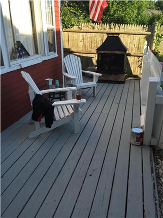 Provincetown Cape Cod vacation rental - Front Porch